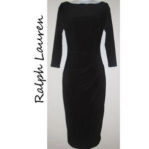 LAUREN Ralph Lauren Black Dress Stretch Bodycon